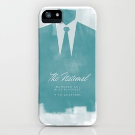 The National - Blue Blazered iPhone Case