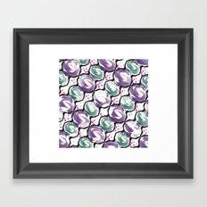 Hanger pattern Framed Art Print