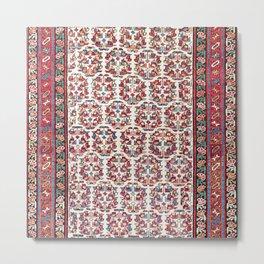 Kurdish Azerbaijan Northwest Persian Carpet Print Metal Print