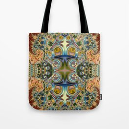Jux art, colourful abstract Tote Bag