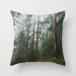 The Gorge - Pacific Crest Trail, Oregon Throw Pillow
