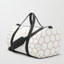 Honeycomb - Gold #170 Duffle Bag