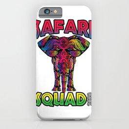 Safari Squad 2020 T-Shirt iPhone Case