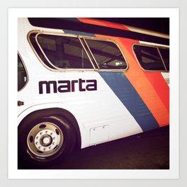 Marta Transit Art Print