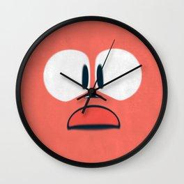 Oh No!  Wall Clock