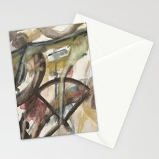 solid geometry Stationery Cards