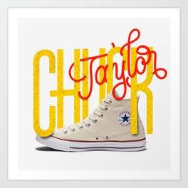 OG Kicks Series | Chuck Taylor Art Print