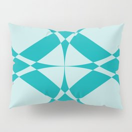 Abstract Circles - Ocean Pillow Sham