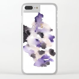 Ghosts Of The Past 87 Clear iPhone Case