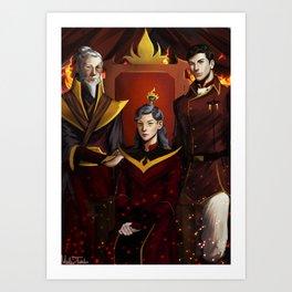 Fire Lords Art Print