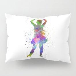 Little girl ballerina ballet dancer dancing Pillow Sham