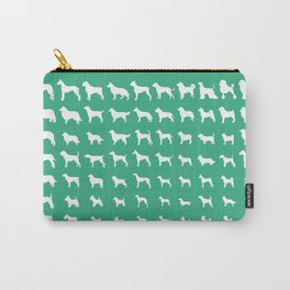 All Dogs (Mint) Carry-All Pouch