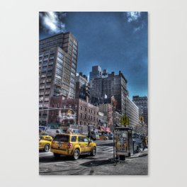 Concrete Jungle Canvas Print
