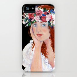 New England Bride iPhone Case