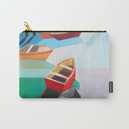 Five Boats Carry-All Pouch