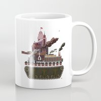 military Mugs featuring Military-Industrial Complex by James Tuer