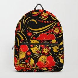 Russian khokhloma Backpack