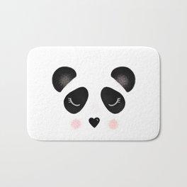 Little Panda Face Bath Mat