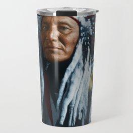 American Indian Chief Travel Mug