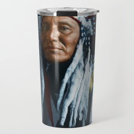 American Indian Chief Travel Mug