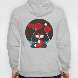 About a red fox Hoody