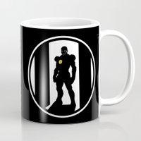 avenger Mugs featuring Golden Avenger by Comix