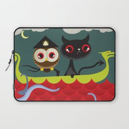 The Aleister & the Pussycat Laptop Sleeve
