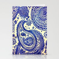 paisley Stationery Cards featuring Paisley :) by Jordan Virden