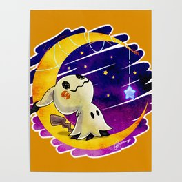Wish Upon A Mimikyu Poster
