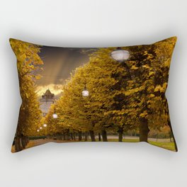 Avenue to the Castle at Windsor Rectangular Pillow