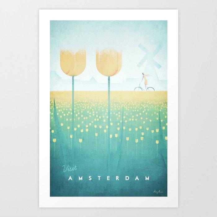 Amsterdam Art Print