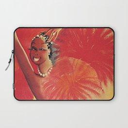 1925 Josephine Baker Est Aux Folies Bergere French Cabaret Vintage Poster Laptop Sleeve