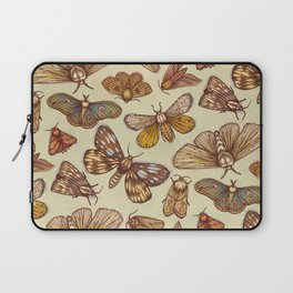 Moth Pattern Laptop Sleeve