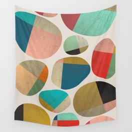 Playful Stones Wall Tapestry