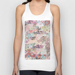 Las Vegas map Nevada Unisex Tank Top