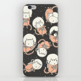 Cat-Stronauts iPhone Skin