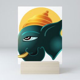 Ganesha Lord Of Beginnings Mini Art Print