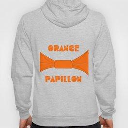 ORANGE PAPILLON Hoody
