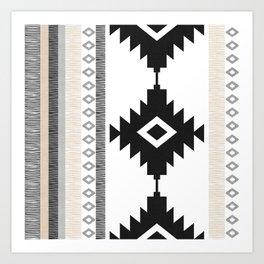 Pueblo in Tan Art Print