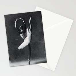 Dancing alone ... Stationery Cards