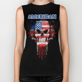 To The Core Collection: USA Biker Tank