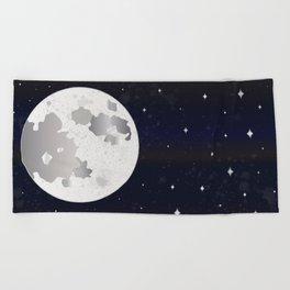 GIVE ME SOME SPACE Beach Towel
