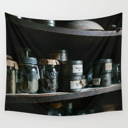 Vintage Pantry & Spices II Wall Tapestry
