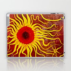 Psychedelic Susan 003, Sunflowers Laptop & iPad Skin