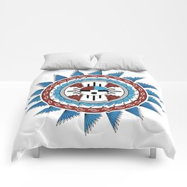 Southwest Native American Art Mandala Comforters