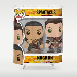 Nagron Spartacus Funko Shower Curtain