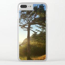 Deception Pass Devine Light Bonsai Tree Clear iPhone Case