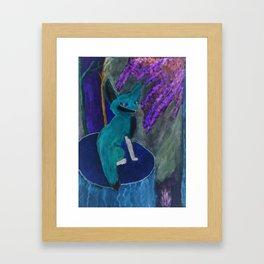 Fox of Karlie (Inverted) Framed Art Print