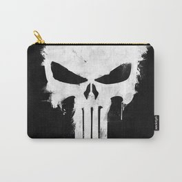 Punisher White Carry-All Pouch