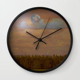 Moon Magic Wall Clock